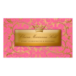 311 Golden diVine #2 Strawberry Brulee Double-Sided Standard Business Cards (Pack Of 100)