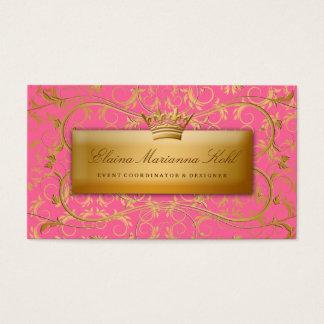 311 Golden diVine #2 Strawberry Brulee Business Card