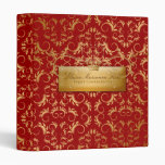 311-Golden diVine #2 Sweet Cherry Red Binder