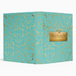 311-Golden diVine #2 Turquoise Rapture Binder
