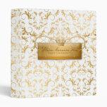 311-Golden Divine #2 White Delight Binder