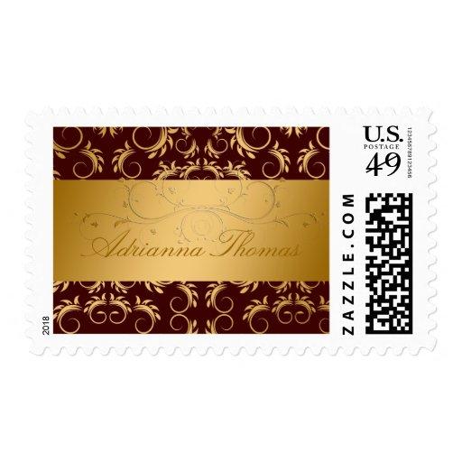311-Golden Divine Chocolate #2 Postage