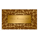 311 Golden diVine Chocolate Brown Business Cards