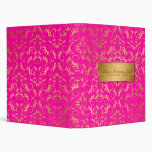 311-Golden diVine Passion Pink Binders