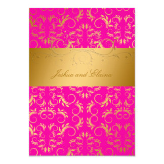 311-Golden diVine | Passion Pink Card
