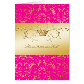 311-Golden diVine Passion Pink Card