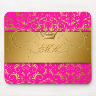 311-Golden diVine Passion Pink mousepad