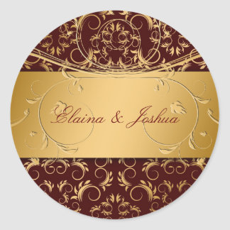 311-Golden diVine Sticker