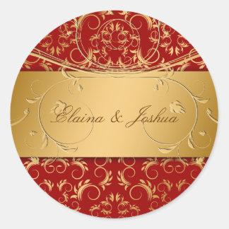 311-Golden diVine Sticker Sweet Cherry Red