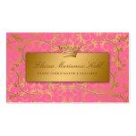 311 Golden diVine Strawberry Brulee Business Card