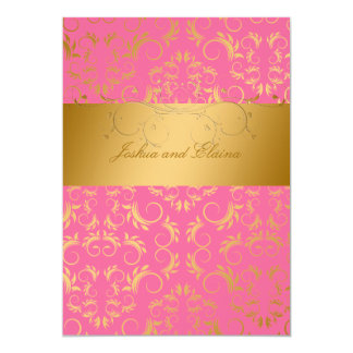 311-Golden diVine | Strawberry Brulee Card