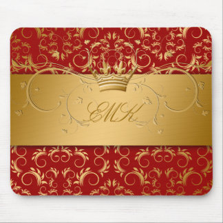 311-Golden diVine Sweet Cherry Red mousepad
