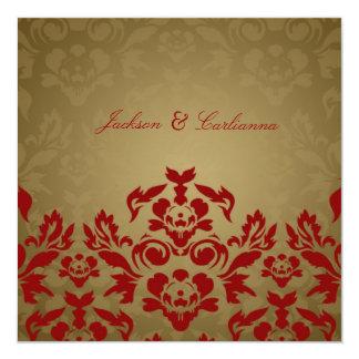 311-Golden Flame Square Invite