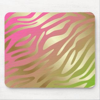 311-Golden Zebra Lollipop Mouse Pad