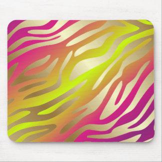311-Golden Zebra Rose Stem Mouse Pad