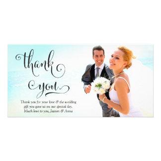 311 gracias Script la tarjeta de la foto de la tip Tarjeta Personal Con Foto