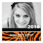 311-Graduation Announcement |Tiger Invitation