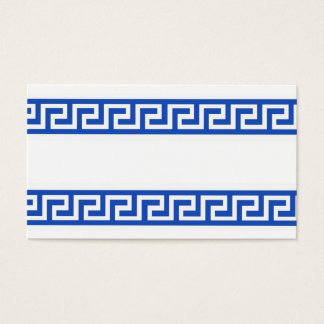 311 GREEK KEY NAME CARD