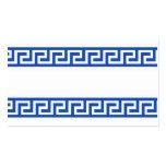 311 GREEK KEY NAME CARD BUSINESS CARDS