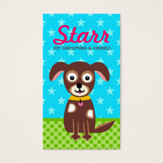 311 GROOMING KENNEL BUSINESS CARD