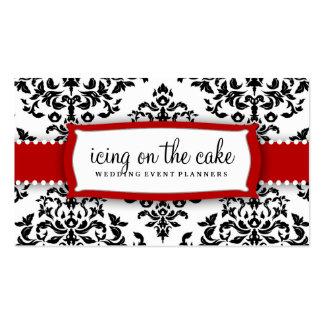 311 guinda del pastel - el helar de la cereza tarjetas de visita