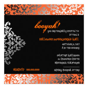 311-Halloween Masquerade Invite