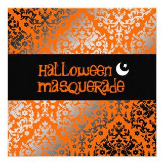 311-Halloween Masquerade Personalized Invite