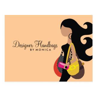 311-Handbag Party Postcard Peachie Queen