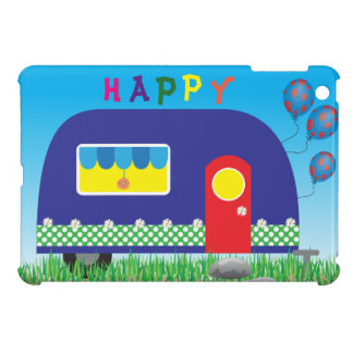 311 Happy Camper Cute Cool Gifts iPad Mini Cover