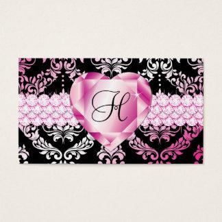 311 Haute Heart Hot Pink Business Card