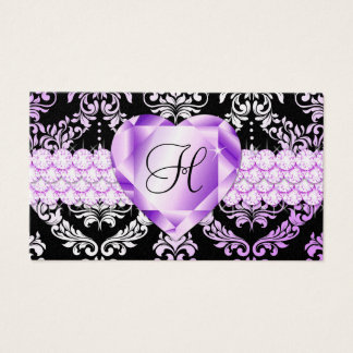 311 Haute Heart Lilac Business Card