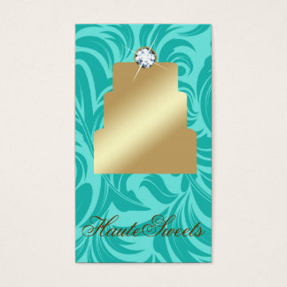 311 Haute Sweets Turquoise Business Card