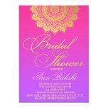 "311 Henna Pink Purple Ombre 5"" X 7"" Invitation Card"