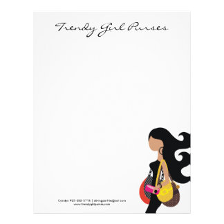 311-HIGH FASHIONISTA Purses Letterhead