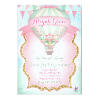 Hot Air Balloon Invitations Announcements Zazzle