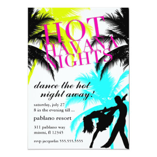 311 Hot Havana Nights White Electric Card