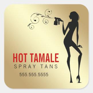 311 Hot Tamale Spray Tans Square Sticker