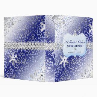 311 Ice Princess Winter Wedding Binders