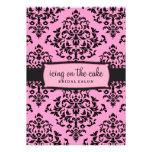 311-Icing en el regaliz del rosa de la torta invit Comunicado Personal