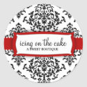 311 Icing on the Cake Cherry Classic Round Sticker
