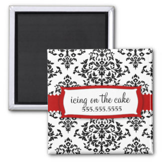 311 Icing on the Cake Cherry Red 2 Inch Square Magnet