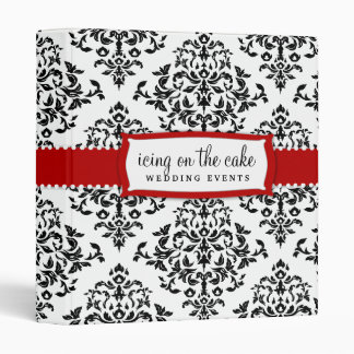 311 Icing on the Cake Cherry Red 3 Ring Binder