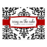 311 Icing on the Cake Cherry Red Postcard