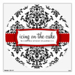 311 Icing On the Cake Cherry Red Wall Decal