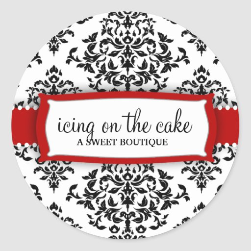 311 Icing on the Cake Cherry Stickers