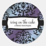 311 Icing on the Cake Hydrangea Classic Round Sticker