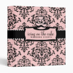 311-Icing on the Cake - Light Pink 3 Tier Binders
