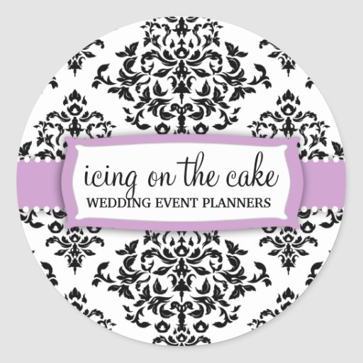 311 Icing on the Cake Lilac Sticker