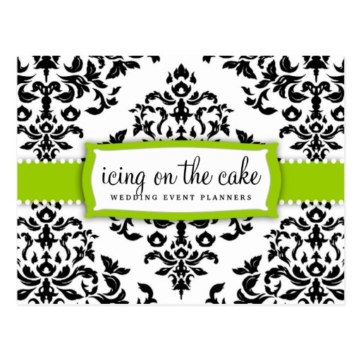 311 Icing on the Cake Lime Green Postcard