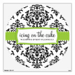 311 Icing On the Cake Lime Green Wall Decal